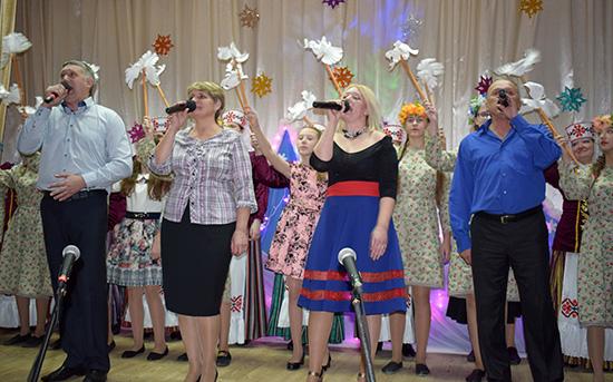 В Шумилино прошёл рождественский вечер в честь благотворителей