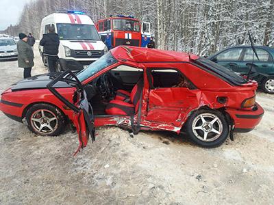 Погода в минувшие выходные сказалась на дорожной ситуации в Витебске и Витебской области