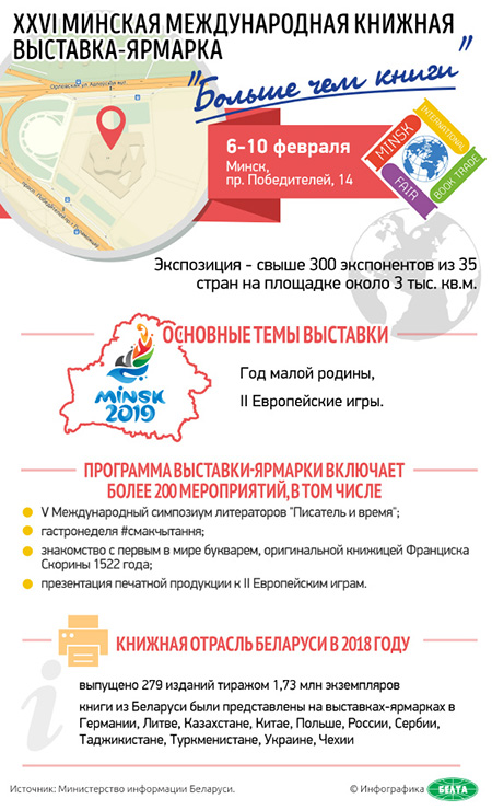 XXVI Минская международная книжная выставка-ярмарка «Больше чем книги»
