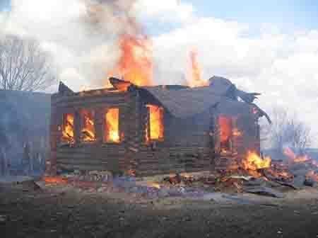 О чём рассказал пожар в Захарове?