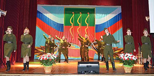 Делегация Шумилинского района побывала на торжествах в Великих Луках