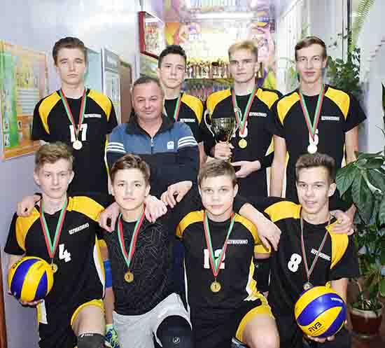 Звание лучших в области шумилинские волейболисты подтверждают третий год подряд