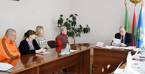 Помощник Президента-инспектор по Витебской области Виталий Вовк провёл приём граждан в Шумилино