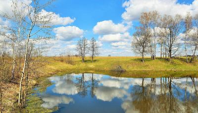В Витебскую область пришли апрельское тепло и раннее половодье