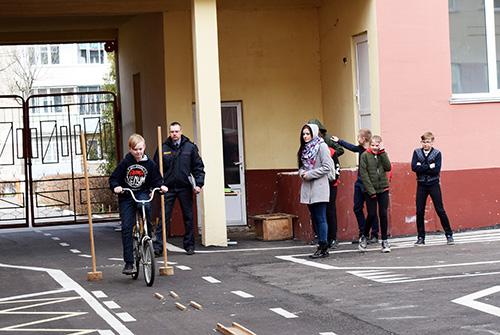 В Шумилино прошёл районный слет-конкурс юных инспекторов дорожного движения