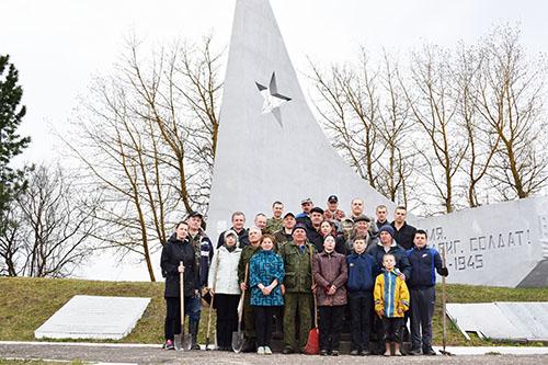 В республиканском субботнике приняли участие более 3800 жителей Шумилинского района