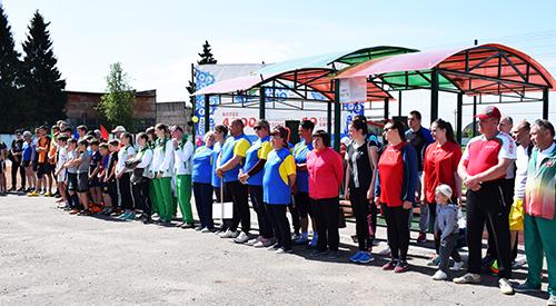 В Шумилино День работников физкультуры и спорта отметили сдачей нормативов