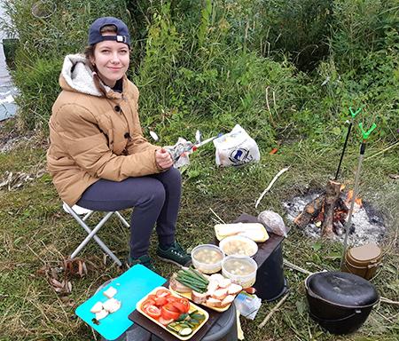 Сергей и Наталья Шабайловы из Шумилино ездят на рыбалку вместе