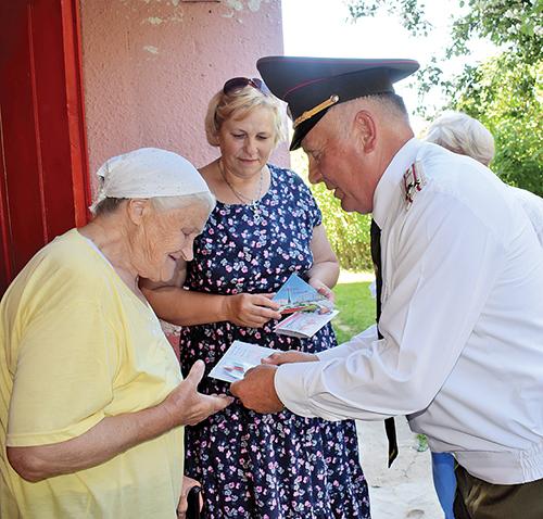 Ветеранам вручили юбилейные медали и поздравительные письма от Президента