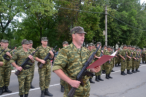 25 военнообязаных из Шумилинского района отправились на сборы