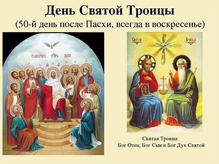 16 чэрвеня – Свята Пяцідзясятніцы (Тройцы)
