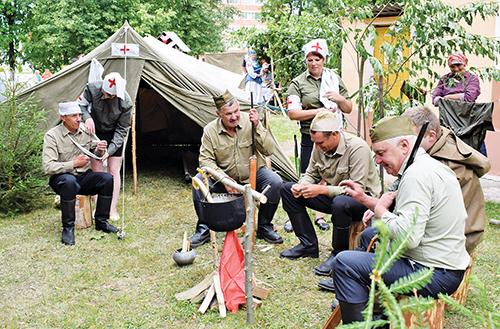 3 июля в Шумилино прошел традиционный конкурс сельских Советов «Память военных лет»