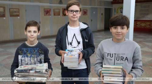 Плата за пользование школьными учебниками в новом учебном году составит Br12,75