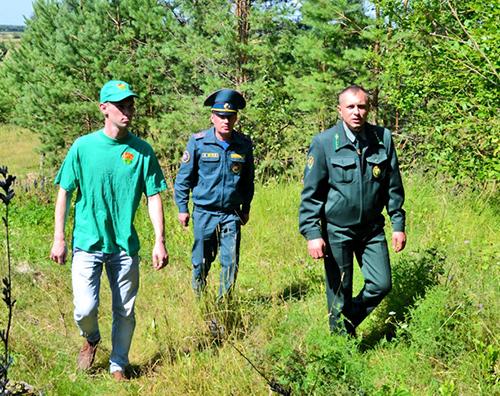 «Летний патруль» прошёлся по шумилинским лесным массивам
