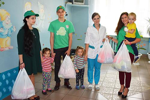 17-летию БРСМ шумилинская молодёжь посвящает свои добрые дела