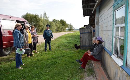 В Ковляковском сельсовете прошли собрания граждан и подворные обходы