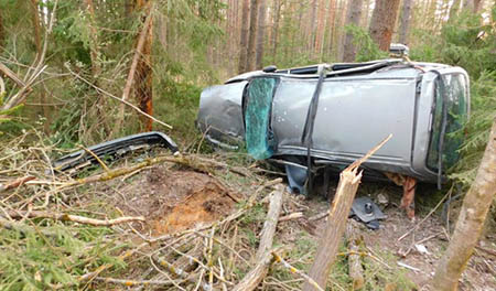 Водитель был пьян. СК завершил расследование ДТП под Шумилино, в котором тяжело пострадали четверо
