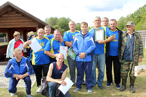 9 команд УП ЖКХ Шумилинского района приняли участие в турслёте