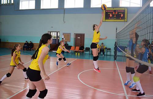 Шумилинские волейболистки вырвали победу