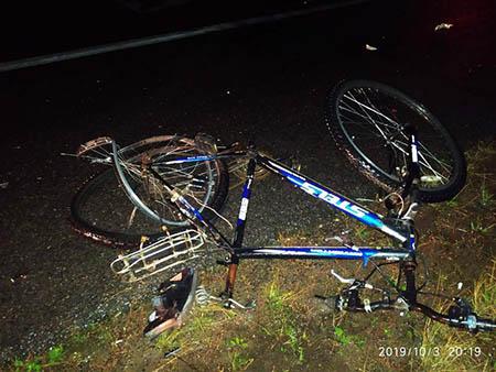 Фура насмерть сбила велосипедиста в Шумилинском районе